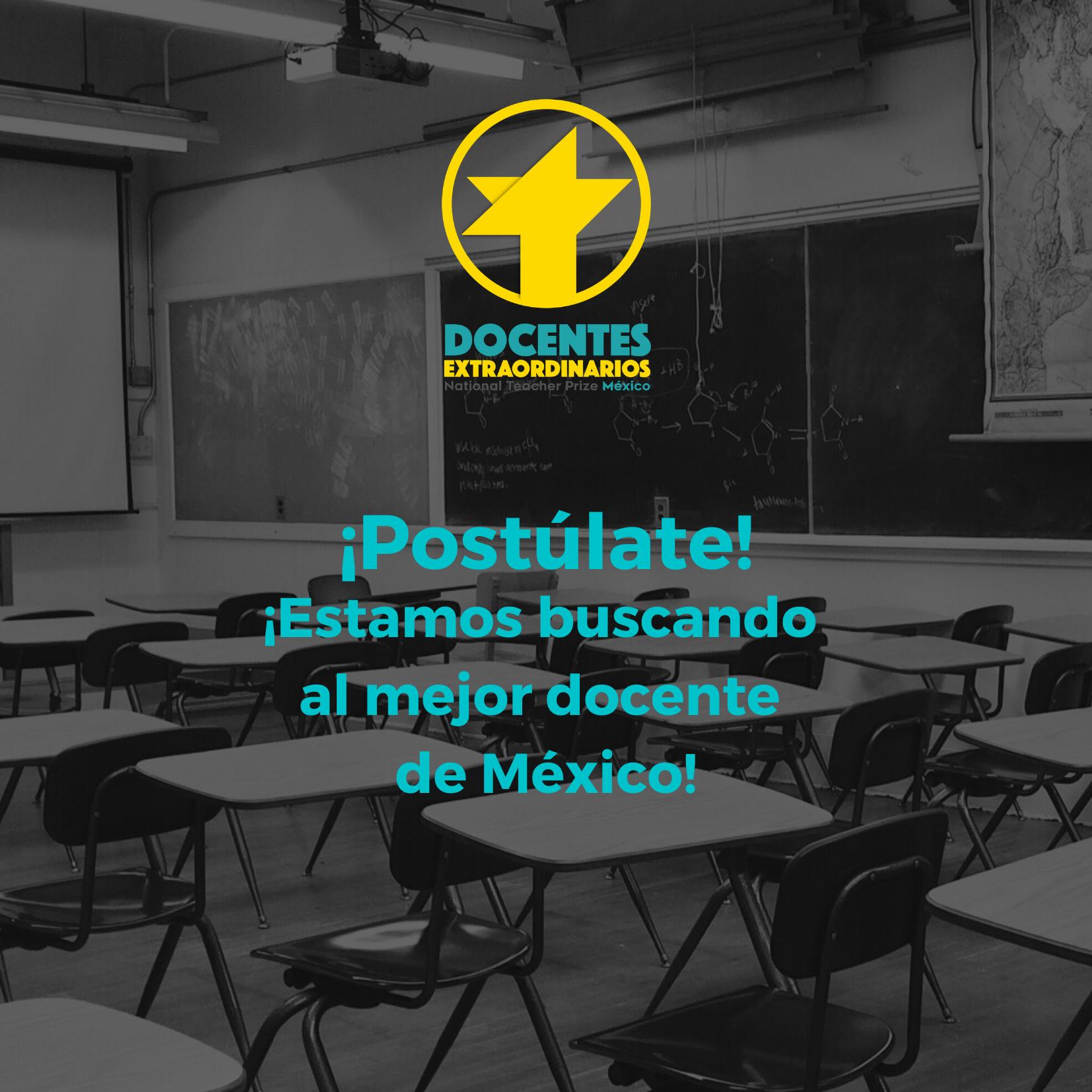 ¡Estamos buscando al mejor docente de México! (1)